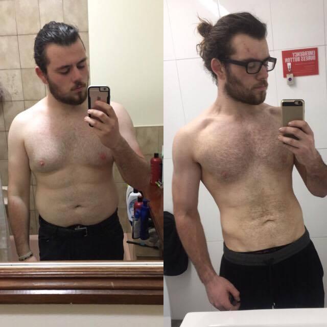 Edward Dusk weight loss